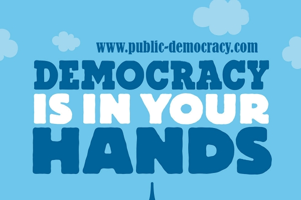 Democracy is in your hands
