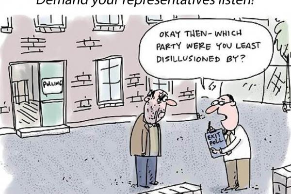 Voter disillusionment